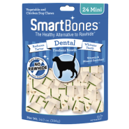 SmartBones Dental Chews Chicken MINI 24 pk