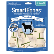 SmartBones Dental Chews Chicken SM 6 pk