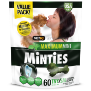 Minties Maximum Mint Dental Bones TNY/SM 24 oz 60 ct