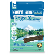 NB LIT Dog Dental Chews Sweet Potato & Chicken REG/LG 13 oz