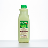 Primal Frozen Raw Goat Milk Green Goodness Quart / 32 oz