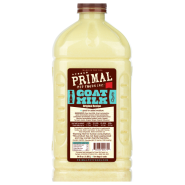 Primal Frozen Raw Goat Milk Half Gallon / 64 oz