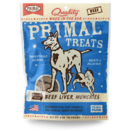 Primal Dog Beef Liver Munchies 2 oz