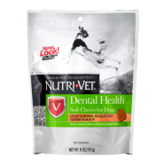 Nutri-Vet Dental Health Soft Chews For Dogs 6 oz