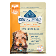 Blue Dog Dental Bones SM 12 oz