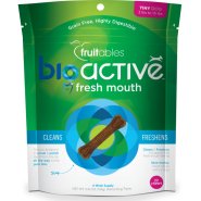 Fruitables Dog BioActive GF Dental Chews Tiny 153 g 22 ct