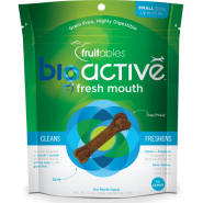 Fruitables Dog BioActive GF Dental Chews Small 207 g 15 ct