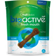 Fruitables Dog BioActive GF Dental Chews Medium 306 g 10 ct