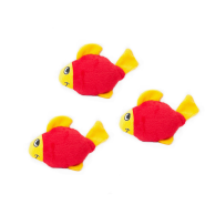 ZippyPaws Miniz Fish 3 pc