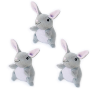 ZippyPaws Miniz Bunnies 3 pc