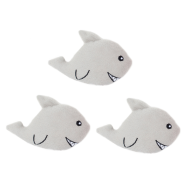 ZippyPaws Miniz Sharks 3 pc