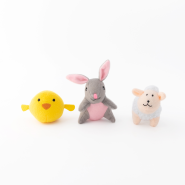 ZippyPaws Easter Miniz Easter Friends 3 pc