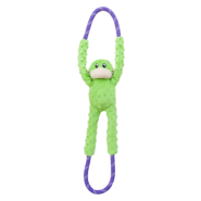 ZippyPaws RopeTugz Monkey Green
