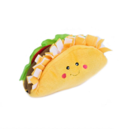 ZippyPaws NomNomz Squeaker Toy Taco