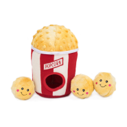 ZippyPaws Burrow Squeaker Toy Popcorn Bucket