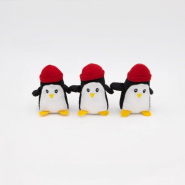 ZippyPaws Miniz Penguins 3 pc