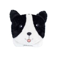 ZippyPaws Squeakie Buns Toy Border Collie