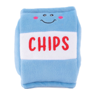 ZippyPaws NomNomz Squeaker Toy Chips
