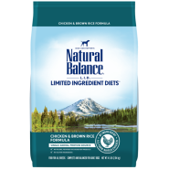 NB LID Dog Chicken & Brown Rice 4.5 lb