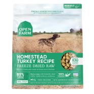 Open Farm Dog Freeze Dried Raw Homestead Turkey 13.5 oz