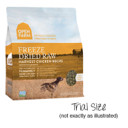 Open Farm Dog Freeze Dried Raw Chicken Trials 10/10 gm