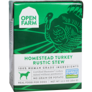 Open Farm Dog Turkey Rustic Stew 12/12.5 oz
