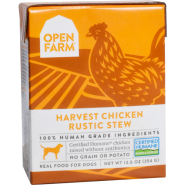 Open Farm Dog Chicken Rustic Stew 12/12.5 oz