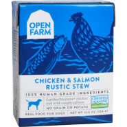Open Farm Dog Chicken & Salmon Rustic Stew 12/12.5 oz