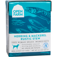 Open Farm Dog Herring & Mackerel Rustic Stew 12/12.5 oz