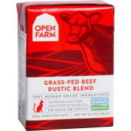 Open Farm Cat Beef Rustic Blend 12/5.5 oz
