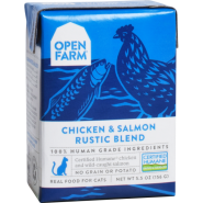 Open Farm Cat Chicken & Salmon Rustic Blend 12/5.5 oz