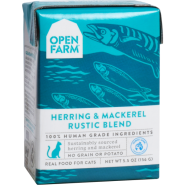 Open Farm Cat Herring & Mackerel Rustic Blend 12/5.5 oz