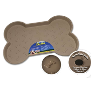 Bella Spill Proof Dog Mats Small Tan