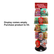 Primal 64 Spinner Treat Rack hooks and signage