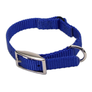 Nylon Safety Cat Collar Blue 10""