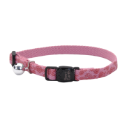 New Earth Soy Breakaway Cat Collar Rose & Roses 8-12""