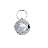 Frosted Designer Cat Bells 1 Bell Round