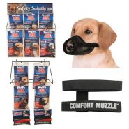 Best Fit Muzzle and Comfort Muzzle Display
