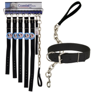 Macho Dog Double-Ply Buckle Collar Display