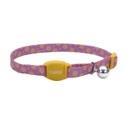 Safe Cat Breakaway Collar Moroccan Flower 3/8x12""