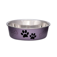 Bella Bowls Medium Metallic Grape