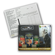 Fussie Cat Frequent Buyer Program Card